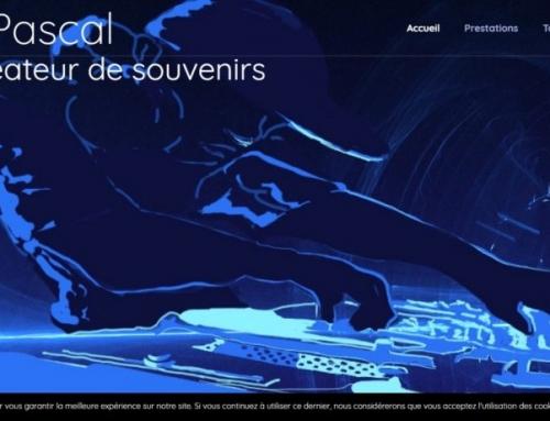 DJ Pascal – Création de site internet